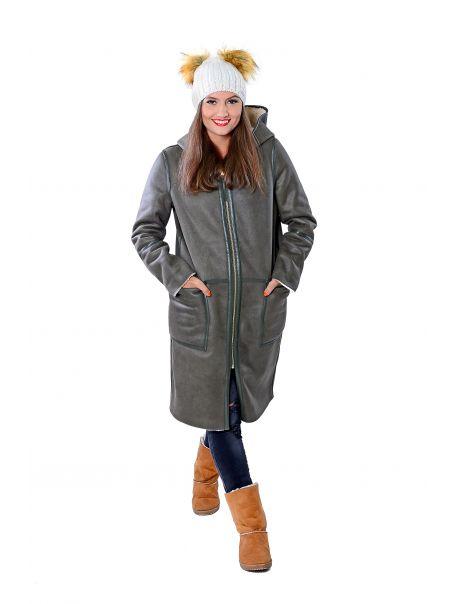 Dámský kabát oboustranný Ova RINO&PELLE