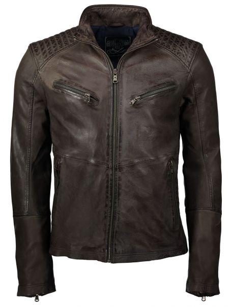 Pánská bunda kožená Macnus RINO&PELLE