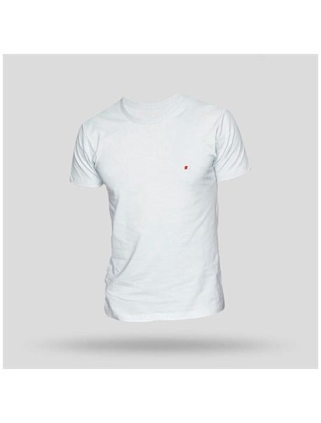 jOHN FRANK Pánské triko JFTBA01 WHITE
