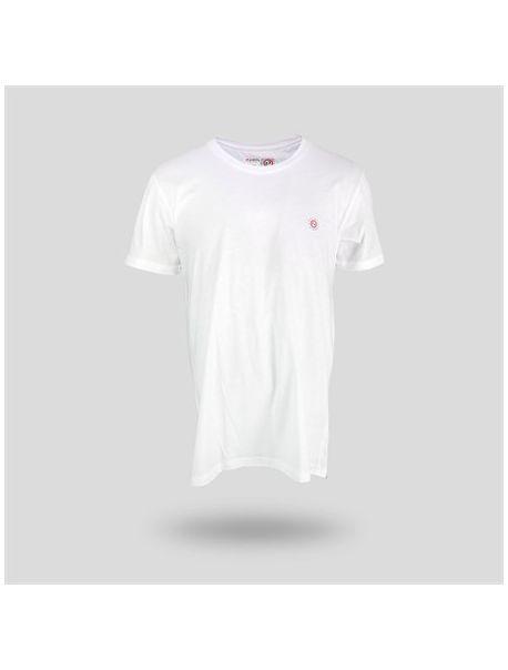 JOHN FRANK Pánské triko JFTMA01 WHITE