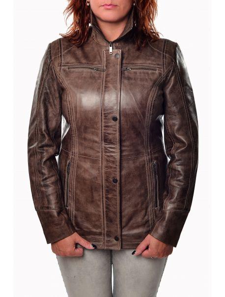 Dámská kožená bunda Bettie od RINO&PELLE