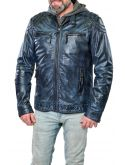 Pánská kožená bunda Smart RINO&PELLE