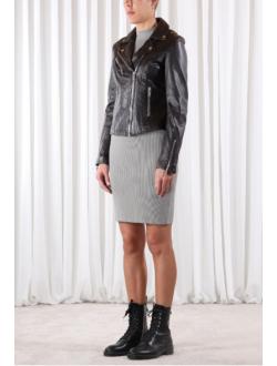 Dámská kožená bunda, křivák Ghost RINO&PELLE