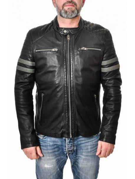 Pánská kožená bunda Jemian RINO&PELLE