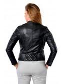 Dámská kožená bunda- křivák Peonia RINO&PELLE