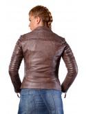 Dámská bunda kožená - křivák Carima